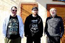 Kladenská rocková kapela Sklad Na Rock.