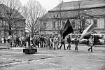 Sametová revoluce v Kladně a Slaném.