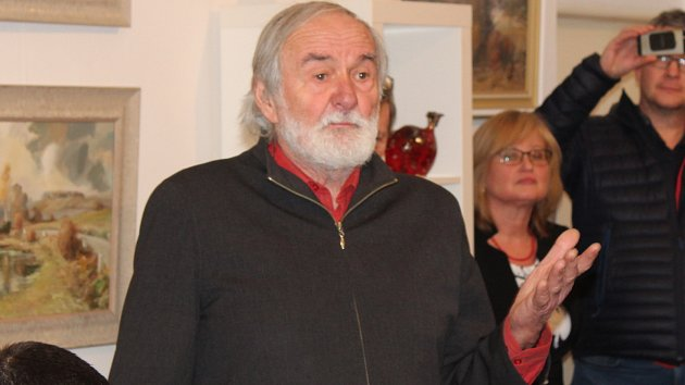 Galerie Radost hostí výstavu obrazů Jiřího Karase
