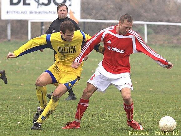 SK Hřebeč - SK Pchery 1:0 (0:0), OP - 14.11.2009
