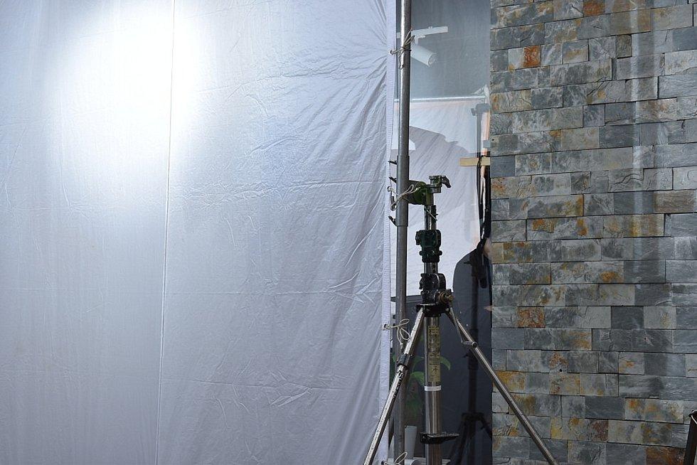 Natáčení reklamy v oční optice na kladenské třídě T.G.M.
