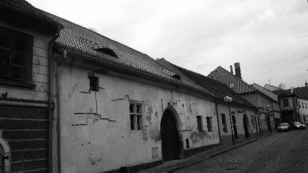 Dům v Horažďovicích, Havlíčkova ul. 47 – stav v létě 2012. Tato nemovitost se nalézala majetku Haanů z Löwenbergu do roku 1906 v mužské, resp. do počátku první světové války v ženské linii.