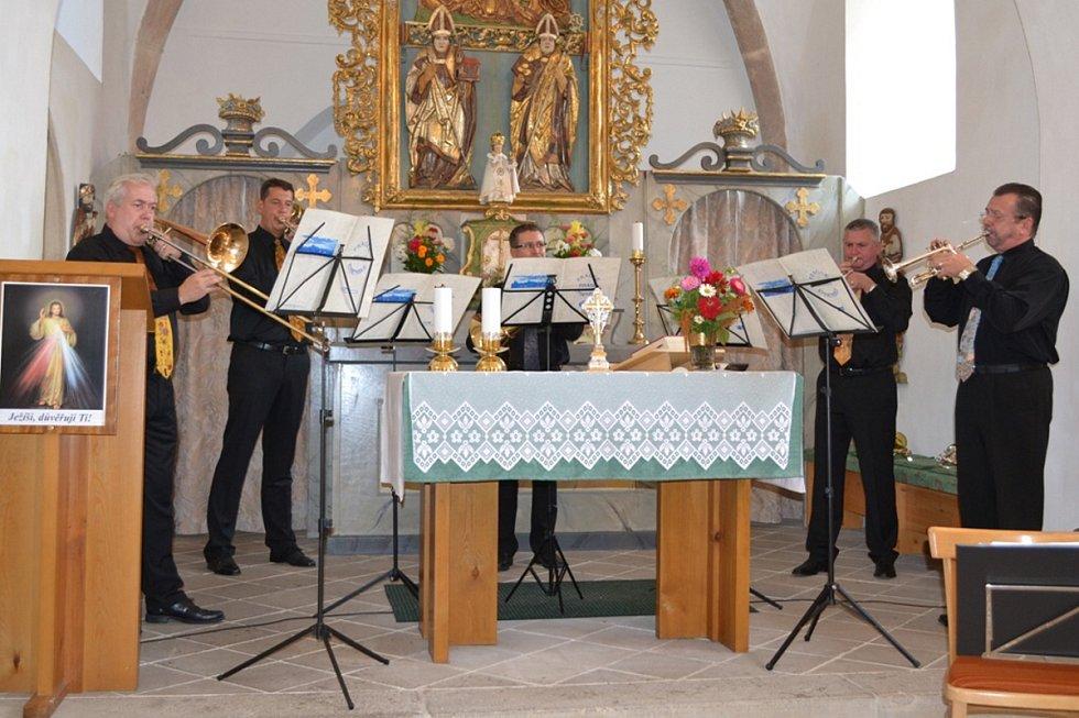 Koncert Pražského žesťového souboru.