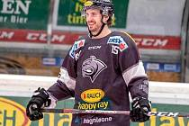 Kanadský útočník Brendan O´Donnell v dresu týmu Dornbirner.