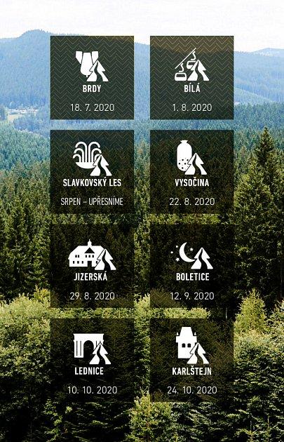 Nové termíny závodů Běhej lesy