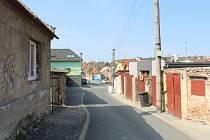 Havířská ulice v Kladně.