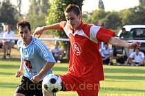 Sokol Lidice - Sokol Hostouň 2:1, finále Lidického poháru. Hráno 9.srpna.2009