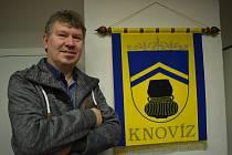 Starosta obce Knovíz Vítězslav Richter.