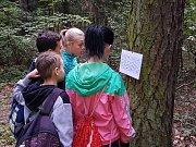 Děti závodily na Sletišti i přilehlém lesíku. První se umístily děti z Amálky.