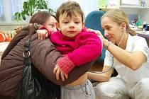 U praktických lékařů pro děti a dorost už rodiče od 1. dubna regulační poplatky neplatí.