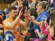 Kladno volejbal cz - FATRA Zlín 3:0, Extraliga volejbalu , Kladno 17. 2. 2018