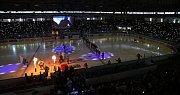 Utkání se neslo v duchu oslav postupu Rytířů do extraligy... //  Rytíři Kladno – Piráti Chomutov 1:2 pp, Chance liga, 21. 4. 2019
