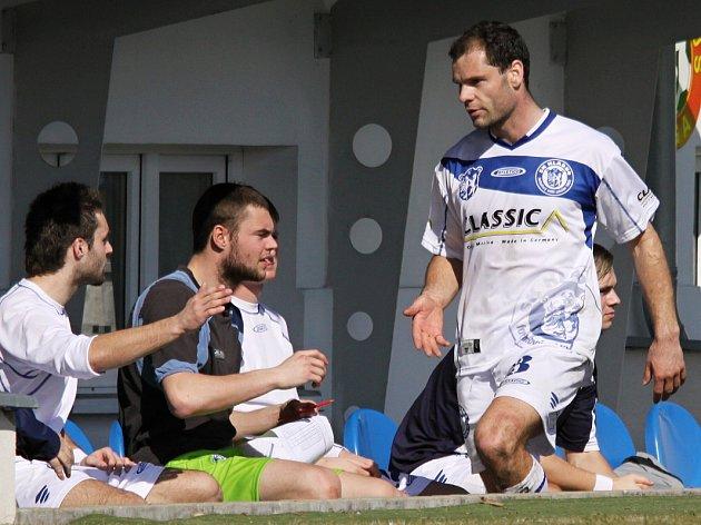 Pavel Bartoš // SK Kladno -1. FC Karlovy Vary  3:0 (1:0) , utkání 19.k. ČFL  2011/12, hráno 17.3.2012
