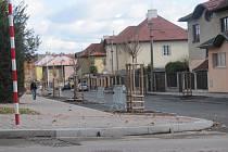 Divadelní ulice v Kladně.