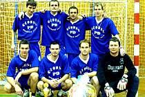 Tým Bestu, vítěz 6. ročníku Vánočního turnaje Josefa Fujdiara.
