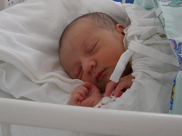 Kristýna Pulchartová, Velká Dobrá, 27.1.2010, váha 3,07 kg, míra 50 cm, rodiče jsou Pavla a Jakub Pulchartovi, porodnice Kladno