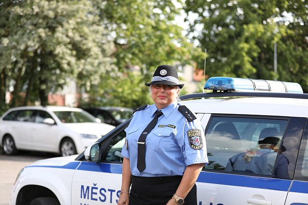 Monika Horová, ředitelka Městské policie Kladn