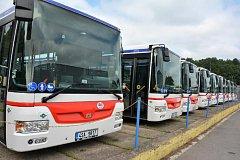 Nové autobusy na ekologícký pohon  - zemní plyn nakoupila kladenská ČSAD MHD.