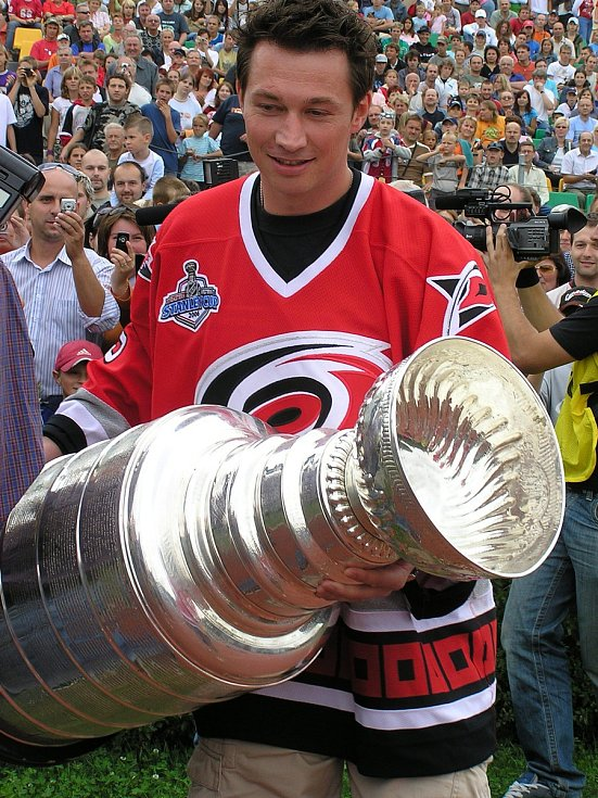 František Kaberle vyhrál Stanley cup v roce 2006.