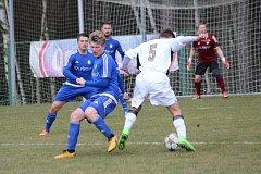 Lhota v derby uspěla a zvítězila nad Slaným 2:1 (2:0)