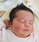 MICHAELA VESELÁ, ZLONICE. Narodila se 14. května. Vážila 4,04 kg, míra 53 cm. Rodiče jsou Darina a Zdeněk Veselých. (porodnice Slaný)