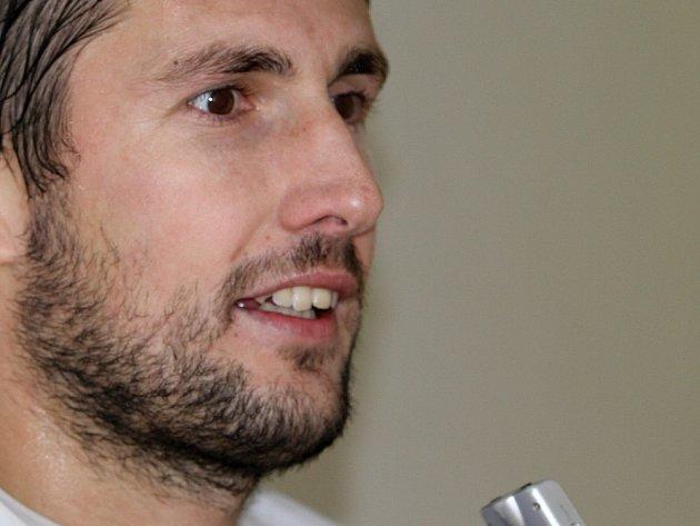 Tomáš Procházka nedal penaltu, litovat ale nemusel. Kladno vyhrálo a branku vstřelil ze hry.// SK Kladno - MFK Chrudim 2:0, hráno 24. 11. 2012