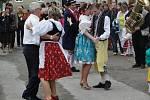 Staročeské máje se konaly v sobotu ve Lhotě na Kladensku.