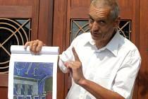 Autorem nové podoby kladenského divadla je architekt David Vávra.