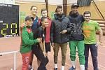 PŘIJEDOU HVĚZDY. Stejně jako loni se halového mítinku Kladno Indoor zúčastní zahraniční atleti.