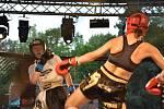 Galavečer MMA ve slánském letním kině.