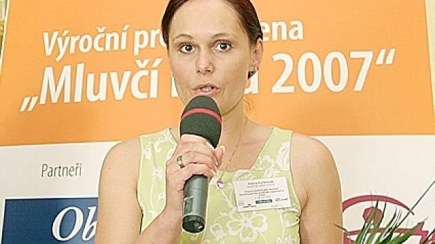 MLUVČÍ KLADENSKÉHO MAGISTRÁTU Petra Kučerová (vpravo) získala v rámci celorepublikové profesní ceny první místo v kategorii Mluvčí veřejnosti.