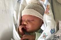 MATOUŠ TŘÍSKA, CÍTOLIBY. Narodil se 8. ledna 2019. Po porodu vážil 3,28 kg a měřil 51 cm. Rodiče jsou Adéla Banková a Adolf Tříska. (porodnice Slaný)