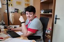 Ředitelka Farní charity ve Slaném Nina Kubištová.