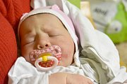 NIKOL DROCEVYČ, KLADNO. Narodila se 2. ledna 2018. Po porodu vážila 4,18 kg a měřila 51 cm. Rodiče jsou Olga Bridel a Roman Drocevyč. (porodnice Kladno)