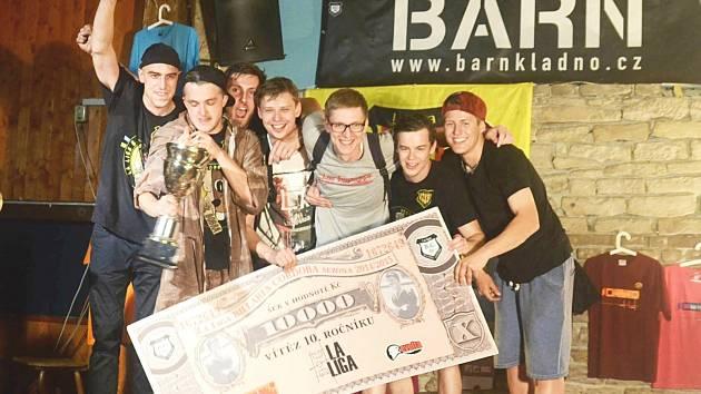 Vítězný tým Půl bobra