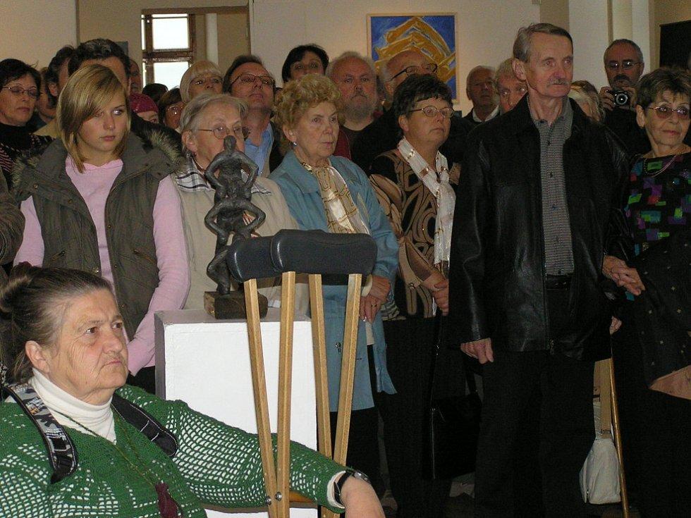 Na Kladenském salonu vystavují i mimokladenští umělci.