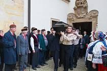 Rozloučení se starostou Ivem Rubíkem. Pátek 29. 11. 2013