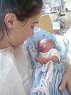 MATHIAS STAŠEK, PODHOŘANY. Narodil se 16. února 2018. Po porodu vážil 2,37 kg a měřil 46 cm. Rodiče jsou Simona Hrenáková a Martin Stašek.