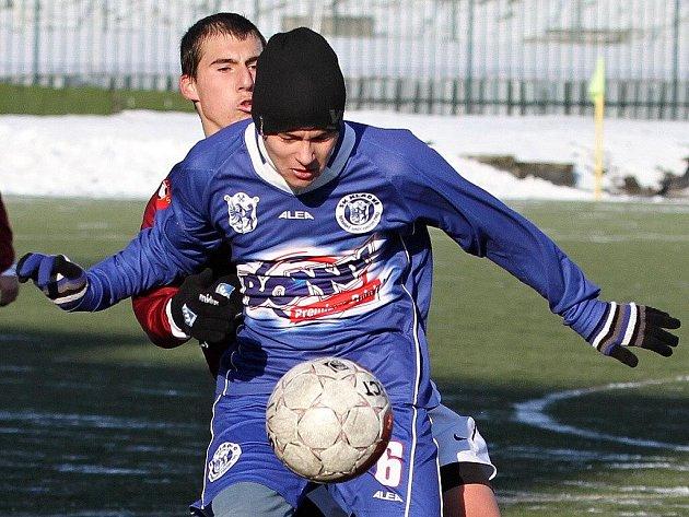 SK Kladno - Sparta Praha , Memoriál V. Marečka pořádaný ČMFS - Starší dorost), UT Kladno 27.11.2010