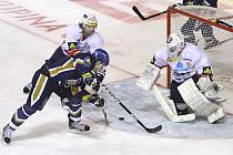 Rytíři Kladno - HC Pardubice 23. kolo ELH 2011-12, hráné 20.11.11.  Jakub Valský