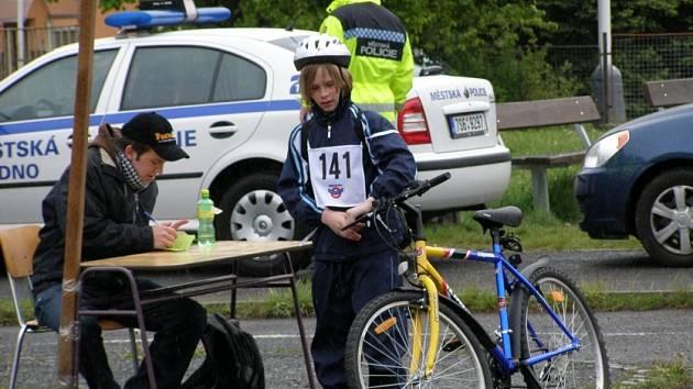 Oblastní kolo Dopravní soutěže mladých cyklistů se uskutečnil ve středu v Kladně.
