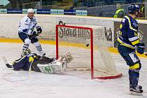 Ústí - Kladno, třetí zápas play off. Petr Ton - 0:1