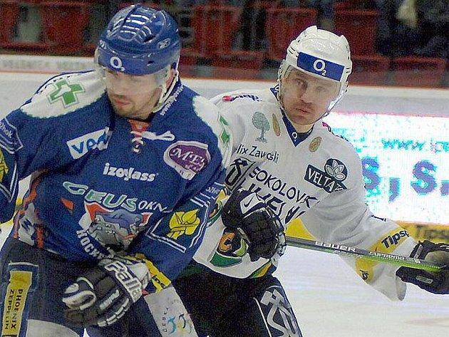 Vítězslav Bílek a Marek Melenovský.