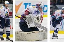 Jaromír Jágr, Denis Godla a Michal Barinka se budou dětem věnovat při akci Týden hokeje v Kladně.