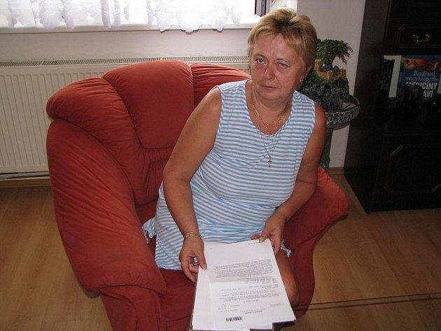 Ladislava Landová nesouhlasí s důvodem svého propuštění