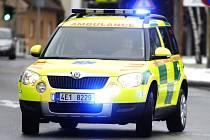 NOVÉ VOZIDLO systému rendez-vous bude sloužit na výjezdové základně záchranné služby v Hostivicích.