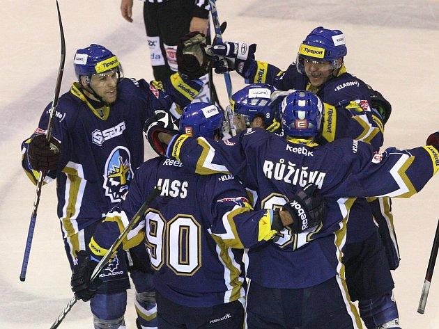 Rytíři Kladno - HC Pardubice, předkolo play-off  ELH 2012-13, páté utkání, 7.3.13