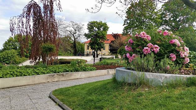 Zahrada Kladenského zámku..
