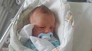 MATYAŠ STARÝ, LOUNY Narodil se 23. dubna 2018. Po porodu vážil 2,55 kg a měřil 48 cm. Rodiče jsou Kamila Stará a Jan Starý.