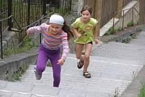 Běh do schodů se v Kladně-Podprůhodu konal podruhé.